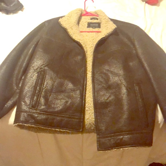 Wilsons Leather Other - Wilson's Leather Sherpa-lined Jacket